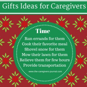 Gift Ideas for Caregivers #1